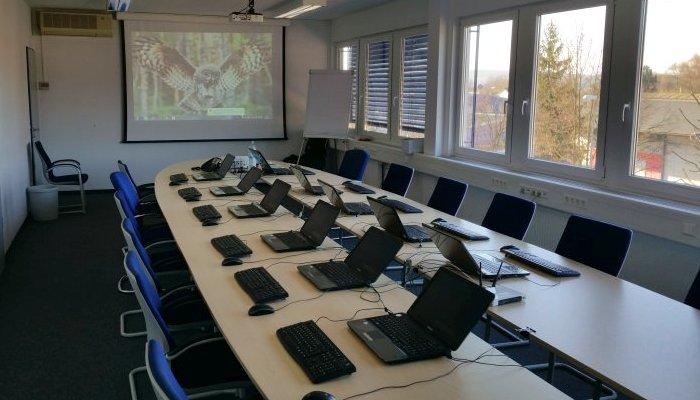 Mobiler Schulungsraum, Frans Parren für inhouse Schulung