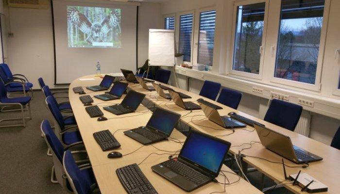 Laptops im Fliegendes Klassenzimmer