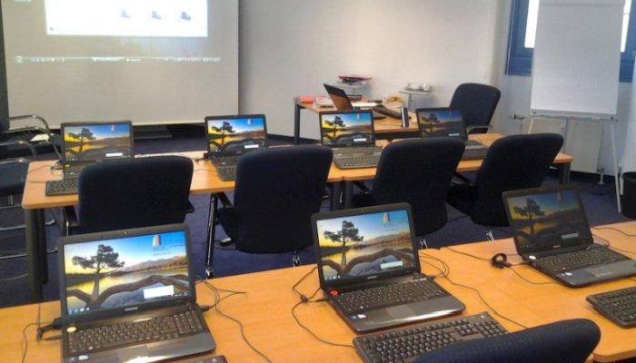 Office Schulung, mobile Ausstattung